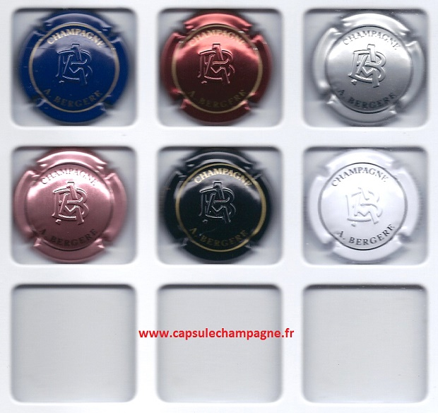 13a.argent et noir Verzamelingen Merken E-J Capsule de champagne GLAVIER Philippe